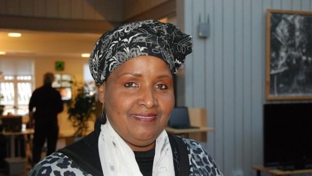 Få med dere dokumentaren om Safia Abdi Haase for å forstå hvilken bra dame hun er.
